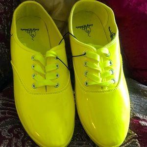"""Women""""s BabyPhat Neon Sneakers, size 9"""